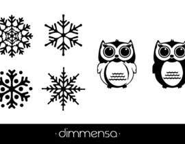 dimmensa tarafından Need some loving snowflake+owl graphics for my wedding için no 12