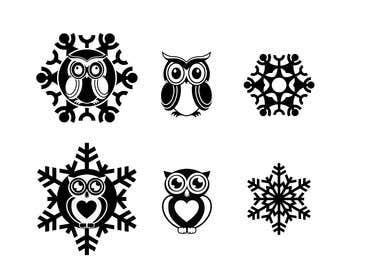 lavdas215 tarafından Need some loving snowflake+owl graphics for my wedding için no 18