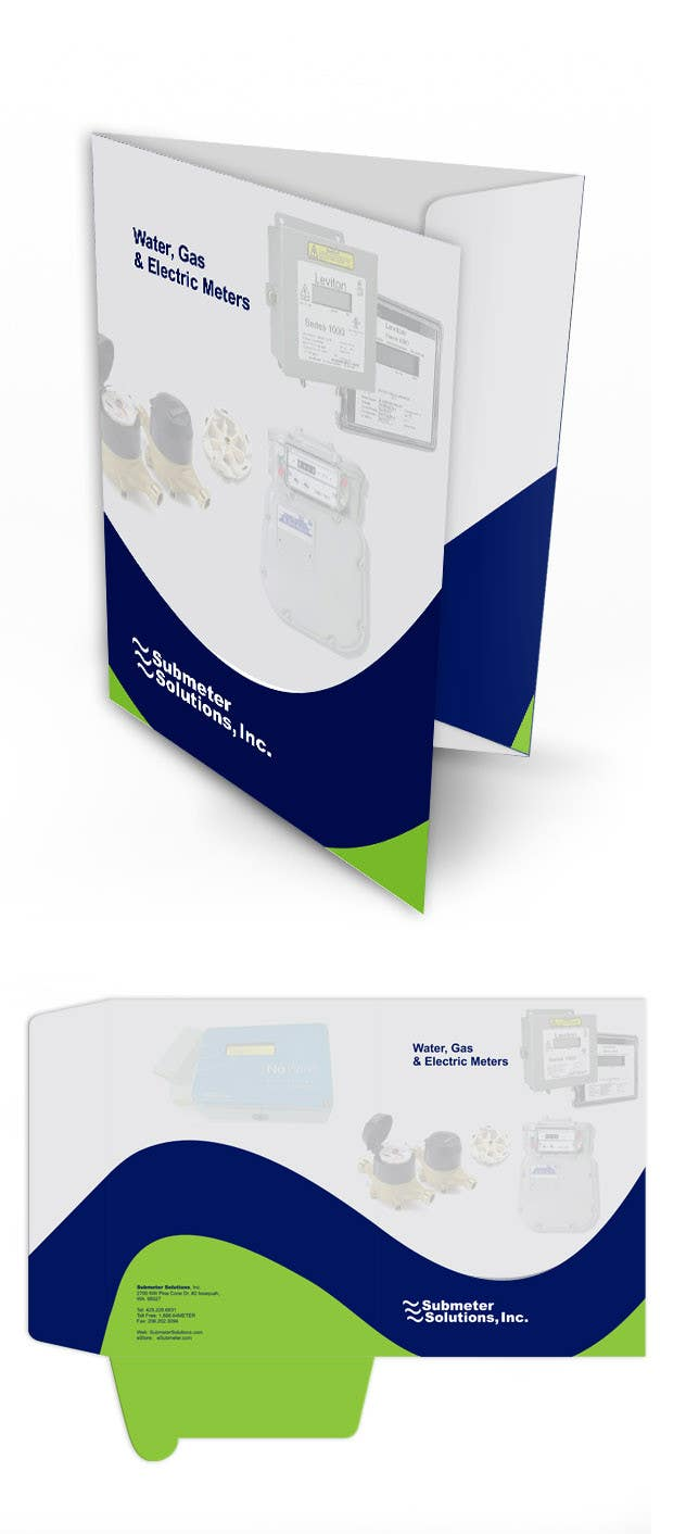 #3 for Sales Pocket Folder/Brochure by ezesol