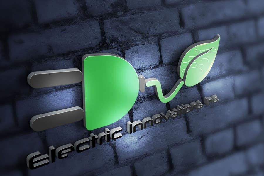 Penyertaan Peraduan #138 untuk Design a Logo for Electric Innovations Inc.