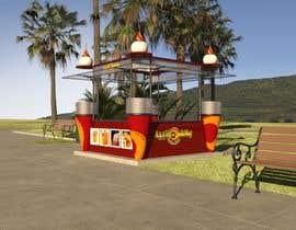 Nro 66 kilpailuun Redesigning Fast Food Kiosk käyttäjältä hoalevan570