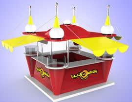 Nro 11 kilpailuun Redesigning Fast Food Kiosk käyttäjältä juwin305