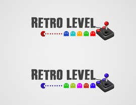 #37 for Design a Logo for «Retro Level» (retro gaming website) af benhammouanas