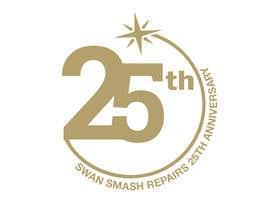 Nro 6 kilpailuun 25th Anniversary Logo käyttäjältä primadanny
