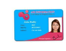 #52 for College ID Card design by KhawarAbbaskhan