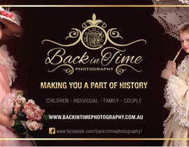 #4 untuk Design a Poster for Back in Time Photography (further work guaranteed, I need more posters) oleh andreabatiz