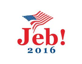 #136 para Redesign the campaign logo for U.S. presidential candidate Jeb Bush por lenssens