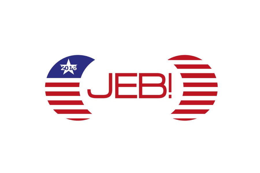 Inscrição nº 97 do Concurso para Redesign the campaign logo for U.S. presidential candidate Jeb Bush