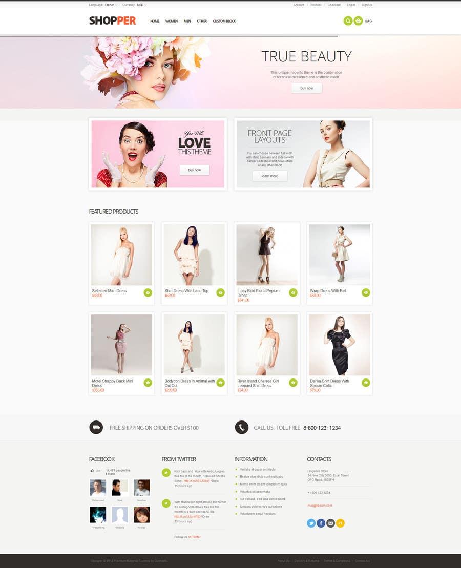 Bài tham dự cuộc thi #                                        3                                      cho                                         A simple 2 page web design