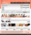Contest Entry #8 for Design a Website Mockup