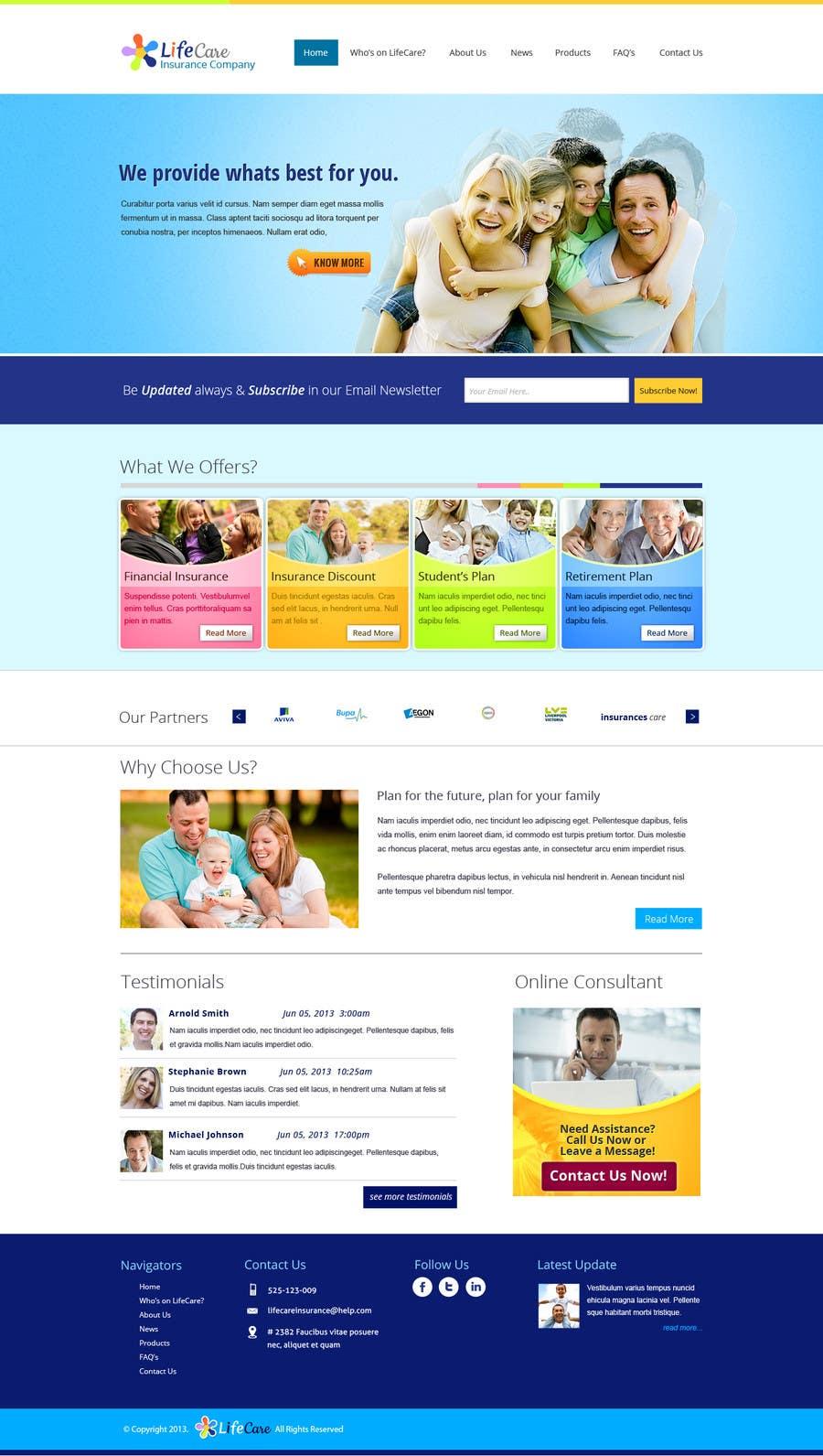 #23 for Design a Website Mockup by chiqueylim