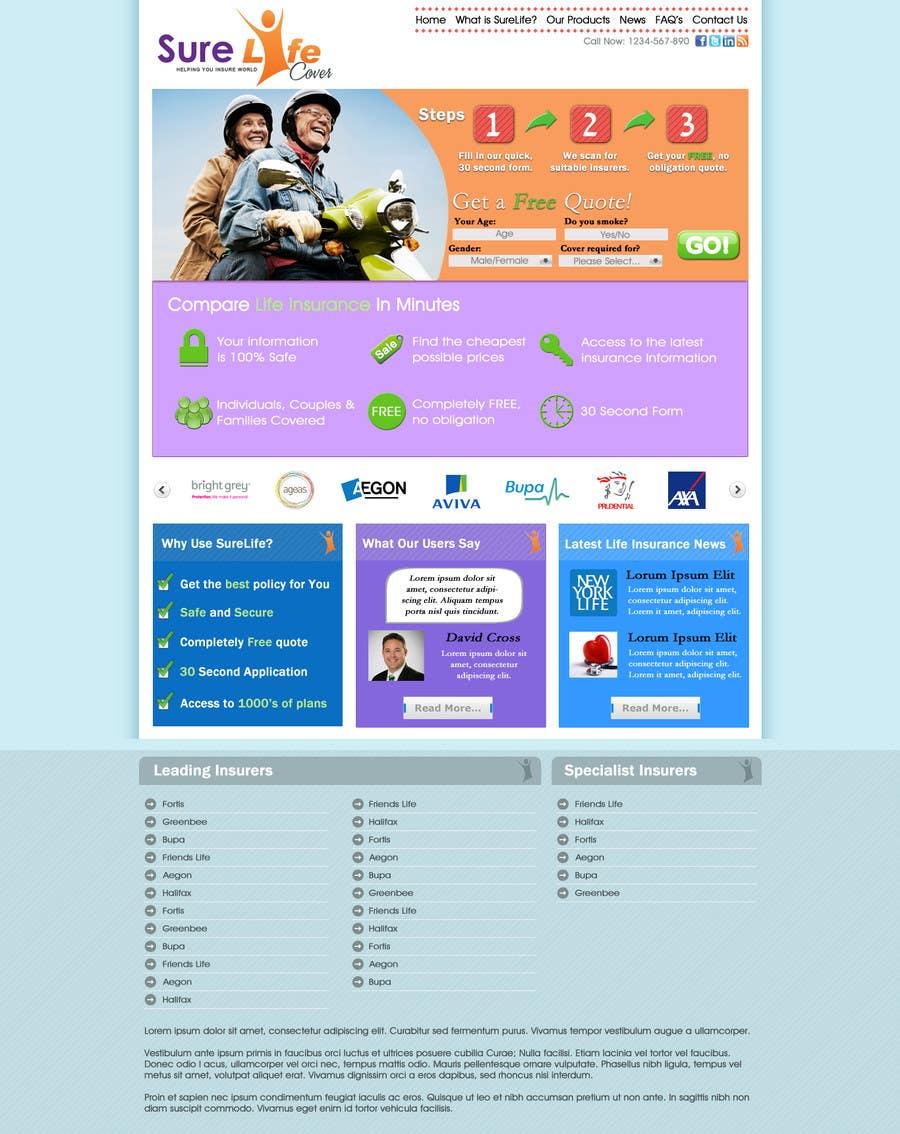 #39 for Design a Website Mockup by JosephNgo