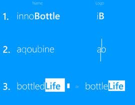 #23 untuk Thinkup a (company)name for a (smart) water bottle webshop and logo oleh Prid