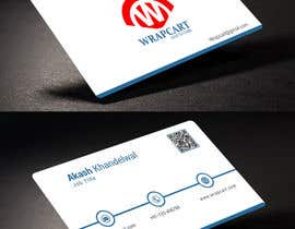 #1 para Design some Business Cards for Wrapcart.com por rahabikhan