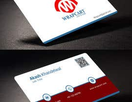 #23 para Design some Business Cards for Wrapcart.com por rahabikhan