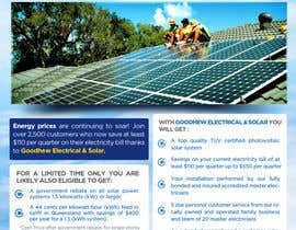 #43 for Advertisement Design for Goodhew Solar & Electrical by RockPumpkin