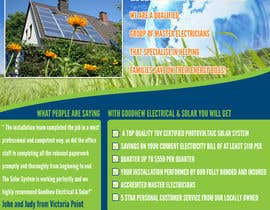 #46 za Advertisement Design for Goodhew Solar & Electrical od hughes85uk