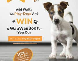 #13 para Walk for dogs contest: Need a Flyer por Creativeapes1