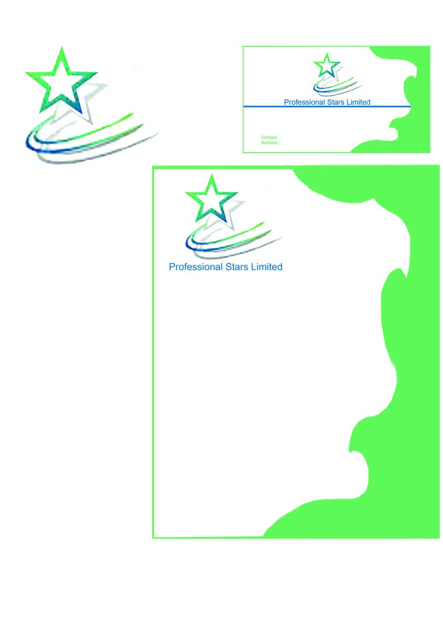 Penyertaan Peraduan #2 untuk Professional Stars Limited- Brand Design and Company Profile