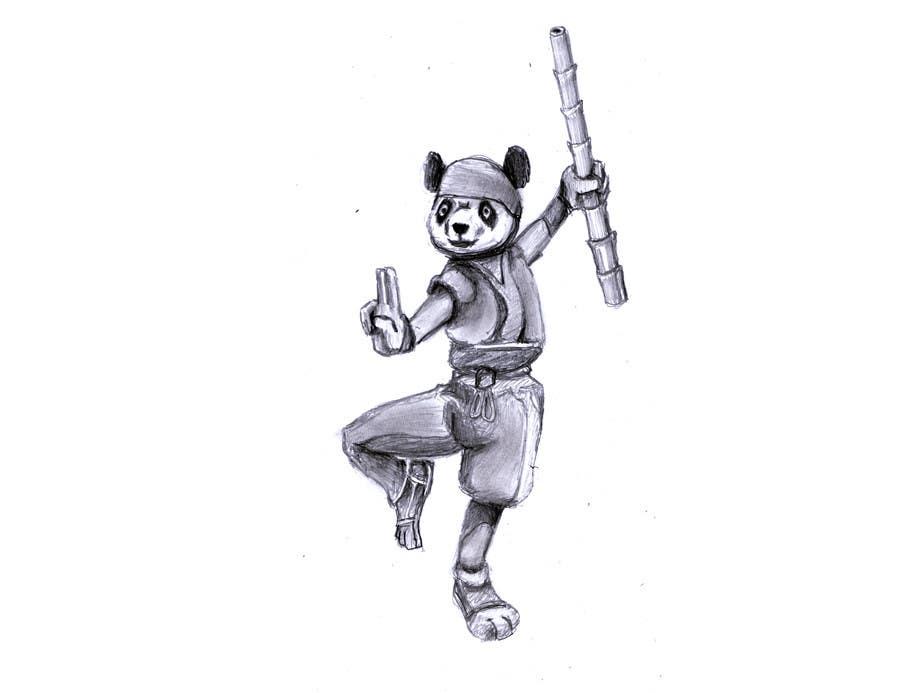 Inscrição nº 4 do Concurso para Mascot Design for Ninja Panda Designs