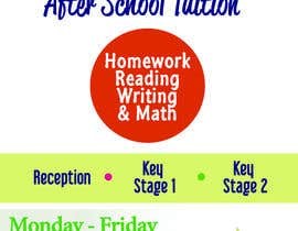 fortyseven47 tarafından flyer for a after school tuition. için no 4