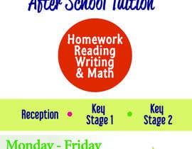 Nro 4 kilpailuun flyer for a after school tuition. käyttäjältä fortyseven47