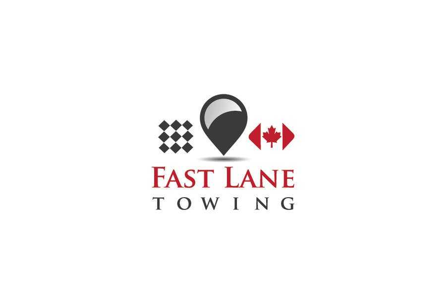 Penyertaan Peraduan #23 untuk Design a Logo for Fast Lane Towing
