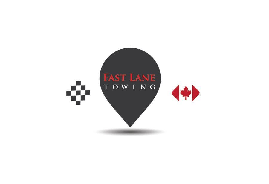 Penyertaan Peraduan #24 untuk Design a Logo for Fast Lane Towing