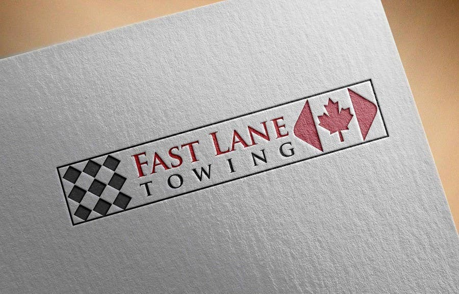 Penyertaan Peraduan #26 untuk Design a Logo for Fast Lane Towing
