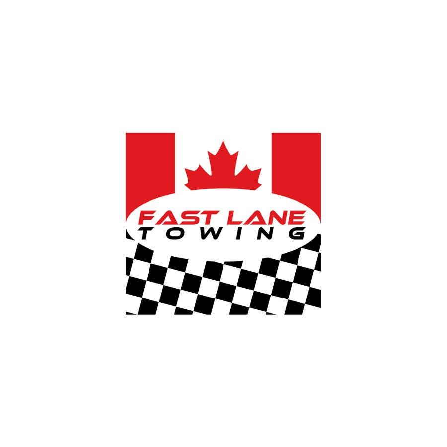 Penyertaan Peraduan #28 untuk Design a Logo for Fast Lane Towing