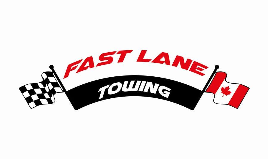 Penyertaan Peraduan #39 untuk Design a Logo for Fast Lane Towing