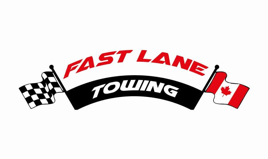 Penyertaan Peraduan #40 untuk Design a Logo for Fast Lane Towing