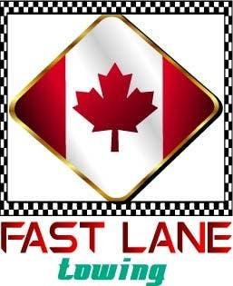 Penyertaan Peraduan #30 untuk Design a Logo for Fast Lane Towing