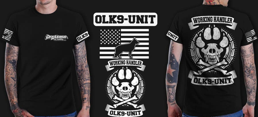 Penyertaan Peraduan #49 untuk Design a T-Shirt for Off Leash K9 Training