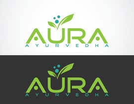 #43 for Design a Logo and brand identity for Aura Ayurvedha brand af LOGOMARKET35