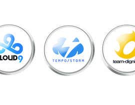 #21 untuk Convert 20 Team Badges Into Badge Icons For Esports teams oleh briangeneral