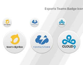 #15 untuk Convert 20 Team Badges Into Badge Icons For Esports teams oleh Piraruka