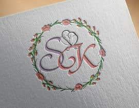 Nro 41 kilpailuun SK wedding monogram käyttäjältä open2010