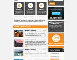 Nro 5 kilpailuun Design a bootstrap html Mockup for Travel Application (including Flights and ancillaries) käyttäjältä gravitygraphics7