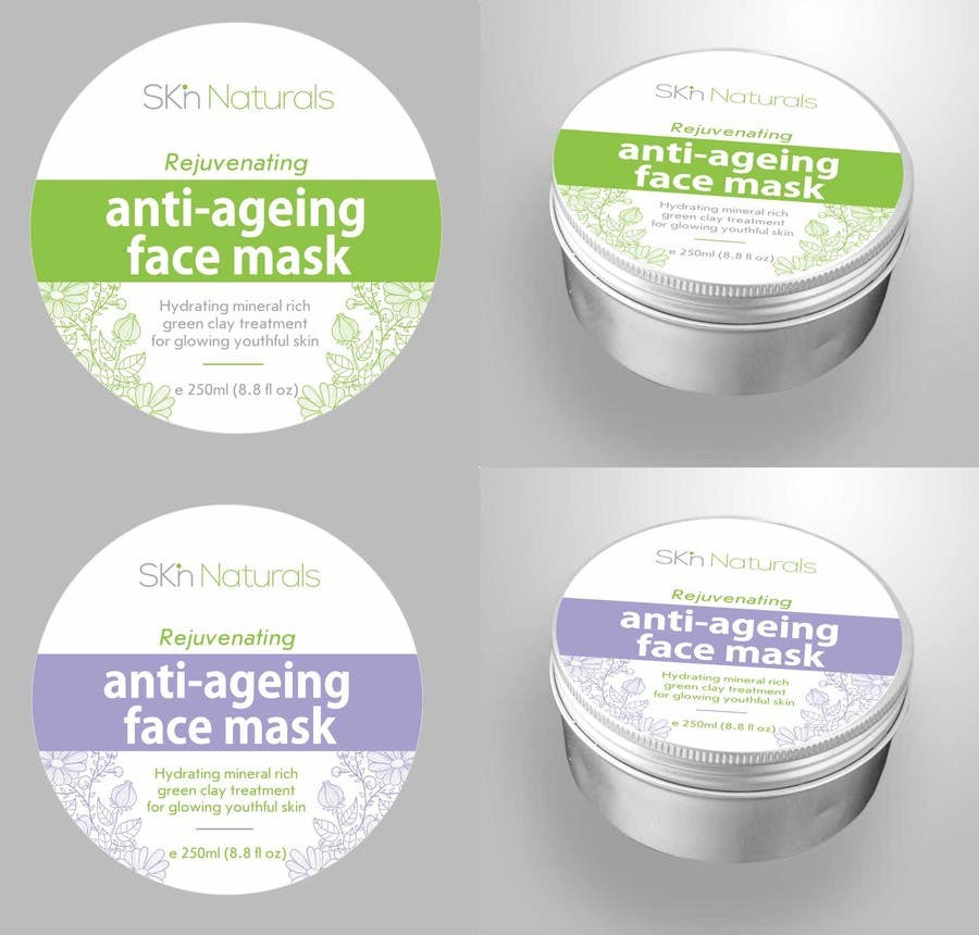 Konkurrenceindlæg #47 for Create Print and Packaging Designs for Natural Skincare Product