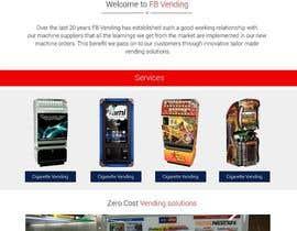 Nro 6 kilpailuun Design a responsive wordpress Mockup for FB Vending käyttäjältä Mahesh2016