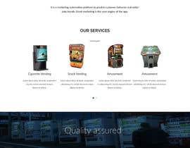 Nro 19 kilpailuun Design a responsive wordpress Mockup for FB Vending käyttäjältä L0G0Track