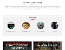 Nro 3 kilpailuun Design a responsive wordpress Mockup for FB Vending käyttäjältä sauravT