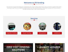 Nro 18 kilpailuun Design a responsive wordpress Mockup for FB Vending käyttäjältä sauravT
