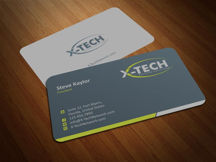 #47 for Develop a Corporate Identity for X-TechNetwork.com (Logo, Business Card & Letterhead) by ezesol