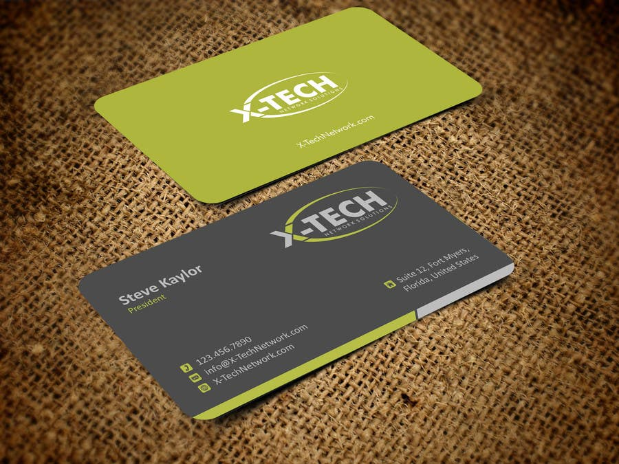 #48 for Develop a Corporate Identity for X-TechNetwork.com (Logo, Business Card & Letterhead) by ezesol