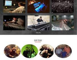 Nro 2 kilpailuun Build a Website for Sound Engineer/Mixer/Producer käyttäjältä jituchoudhary
