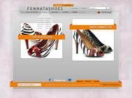 Graphic Design Contest Entry #1 for Shoe Design for FEMNATASHOES