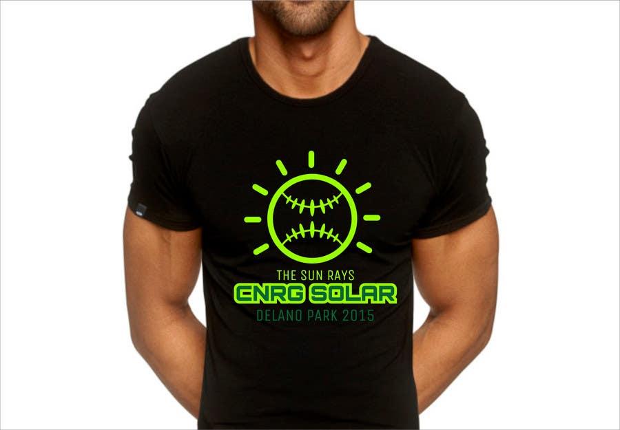 Inscrição nº 8 do Concurso para Design a T-Shirt for a softball team