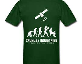 #34 cho Design a T-Shirt for Crumley Industries bởi Dejv5746